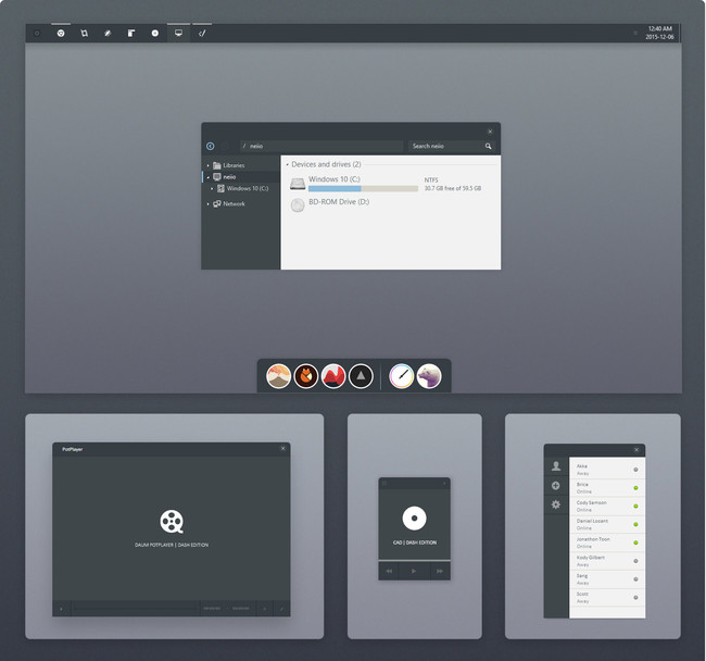Dash For Windows® 10(diez) By Neiio D9j6rl0
