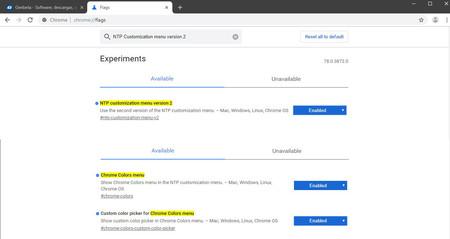 Flags Chrome Personalizacion