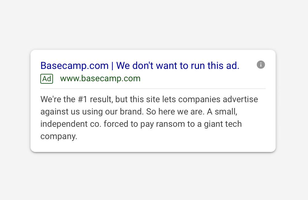 Los anuncios en Google son una