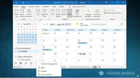 Calendario Outlook