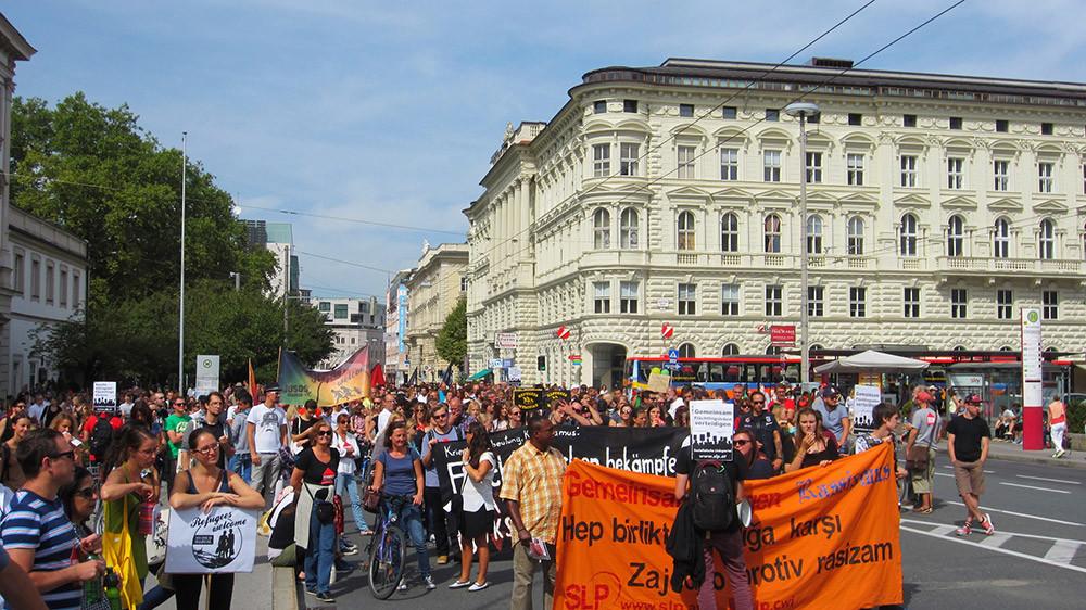 Austria Refugiados