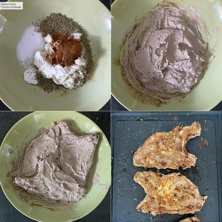 Cinnamon Chops.  Steps