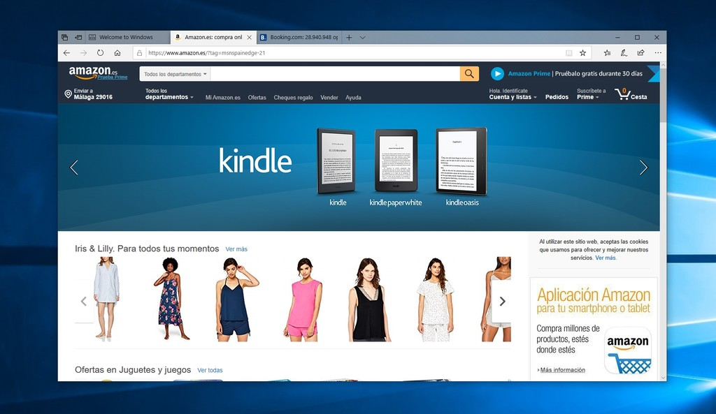Permalink to Microsoft Edge esconde enlaces de afiliados de Amazon y Booking para ganar dinero con tus compras