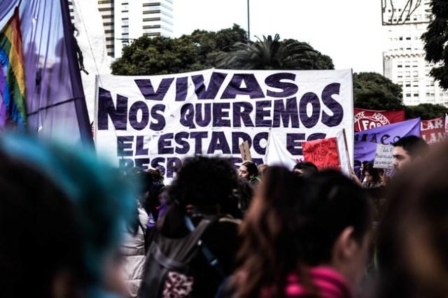 Marcha Ni Una Menos En Buenos Aires 14