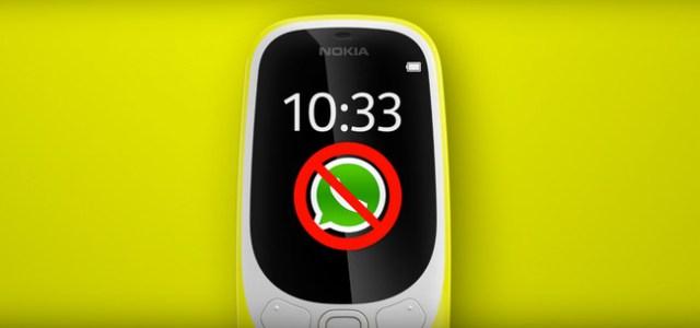 El falso truco para instalar WhatsApp™ en el Nokia™ 3310 (2017): no lo intentes, es imposible
