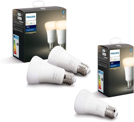 Philips Hue White Pack De 3 Bombillas Led