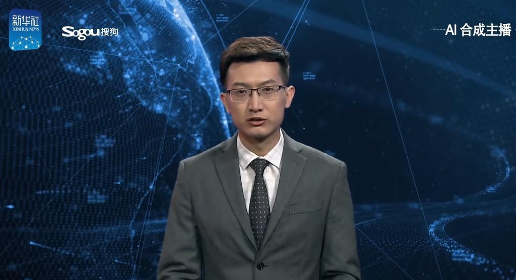 Permalink to Este presentador del telediario en China está generado por inteligencia artificial, y no lo hace nada mal
