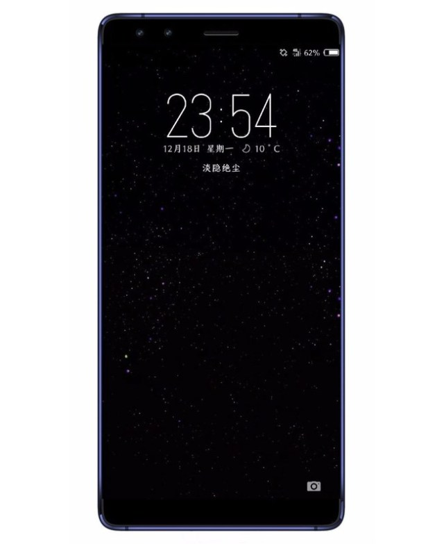 Nokia 9 Render Doble Camara Frontal
