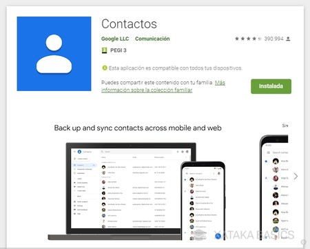 How to transfer your contacts from an Android mobile to another Android