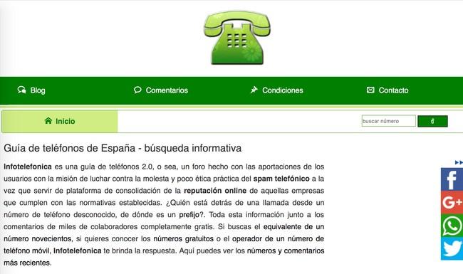 Window Y Infotelefonica A Quien Pertenece Un Numero De Telefono