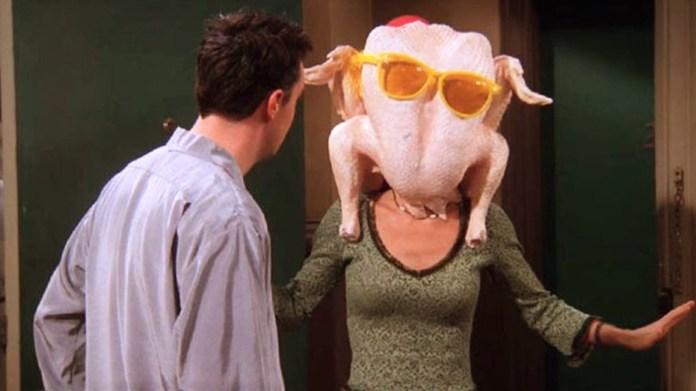 Los momentazos de las diez cenas de Acción de Gracias de 'Friends ...