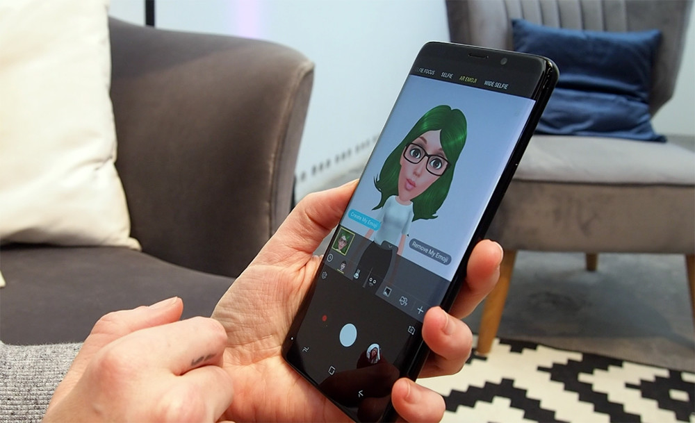 Galaxy S9 y S9+ animojis