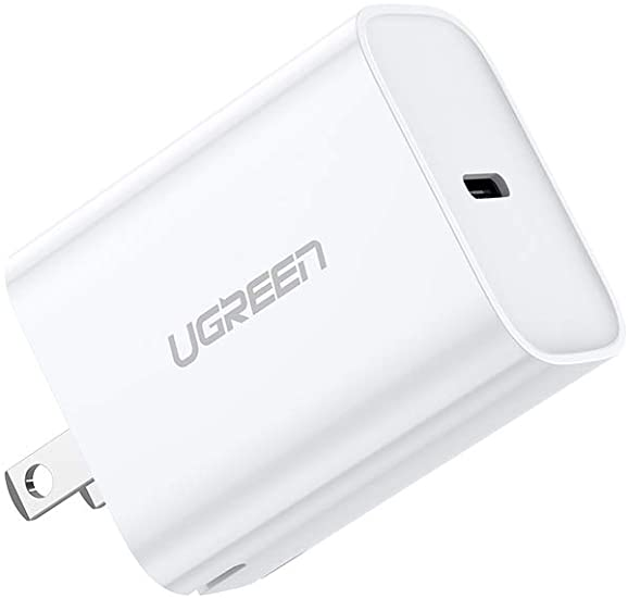 Ugreen- USB-C, cargador de carga Rápida de 20W