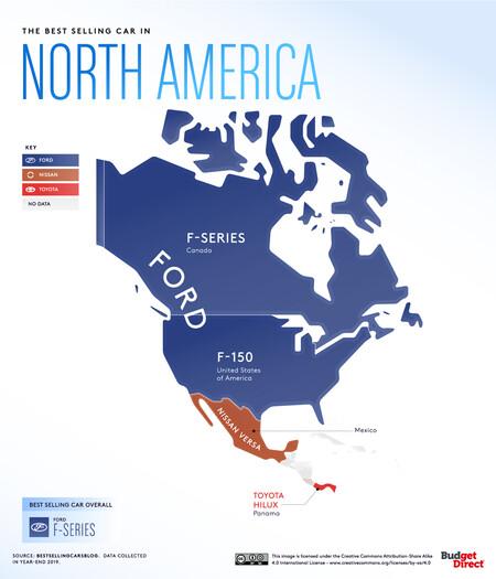 Coches America Del Norte