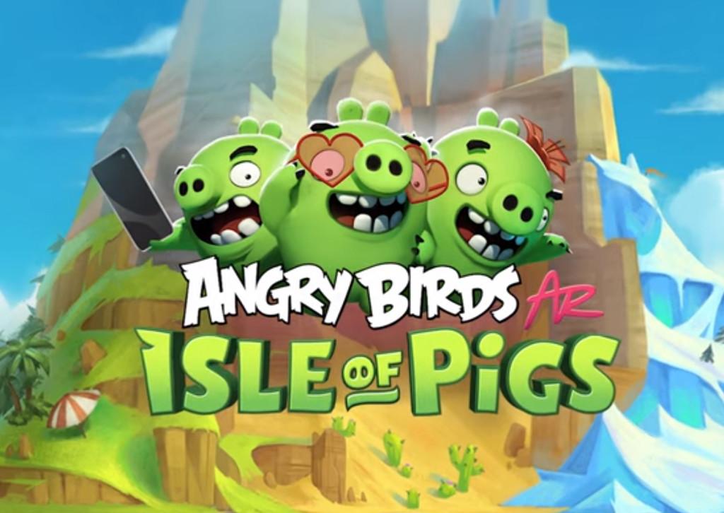 Angry Birds: Isle of Pigs, el paso de los pájaros al planeta real empleando Realidad Aumentada