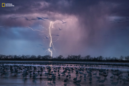 Storm Over River