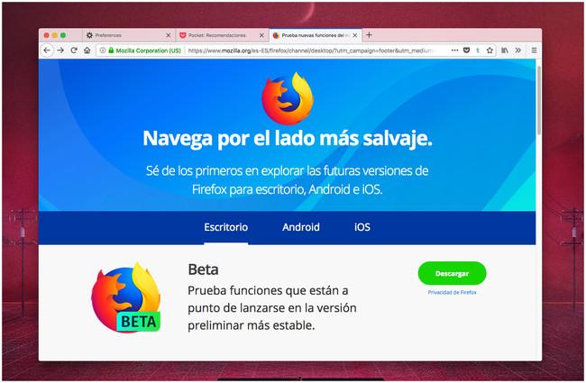 Firefox Anuncios
