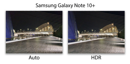 Samsung Galaxy Note 10plus Hdr