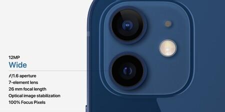 Camara Secundaria Iphone 12