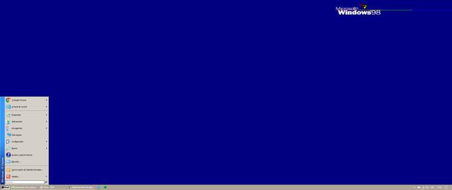 Windows 10 Como Windows 98