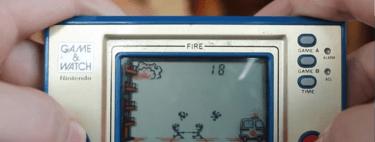 Con Nintendo Labo se puede recrear una máquina de Game & Watch y este usuario lo consigue de la mejor forma posible