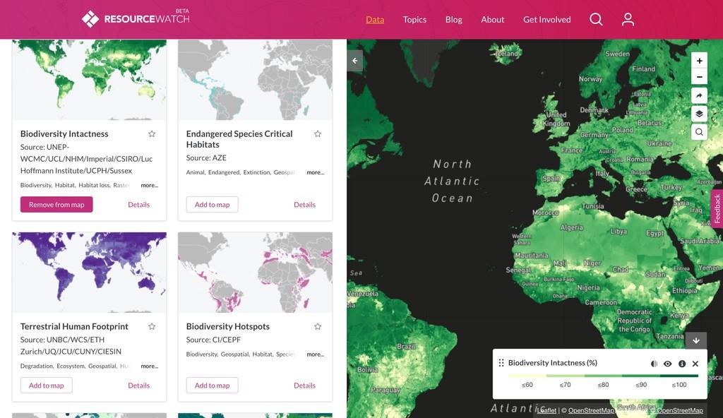 Window Y Explore Data Sets Resource Watch Resource Watch 2