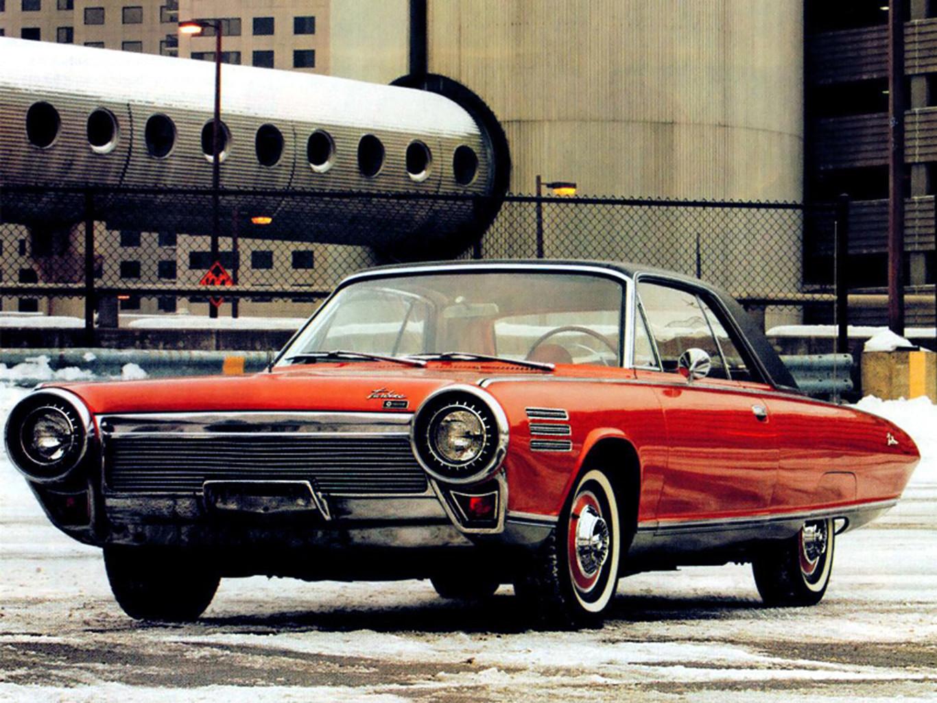 1964 Chrysler Turbine Car Interior