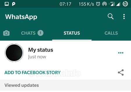 WhatsApp already allows publishing the 'States' in Facebook stories in its latest beta: interoperability is close