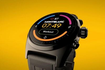 Montblanc Summit Lite: el nuevo smartwatch de lujo tiene Wear OS, NFC y supera los 800 euros de precio