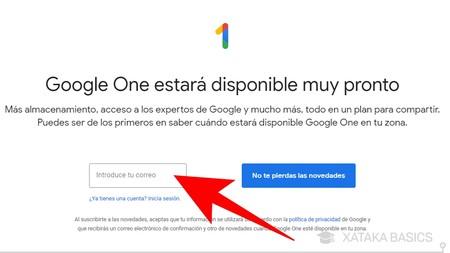 Correo Google® One