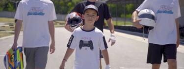 El 'nuevo' Fernando Alonso tiene diez años y no conduce coches de verdad, sino en un equipo de esports