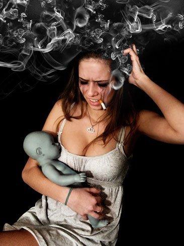 Tabaquismo en el bebé