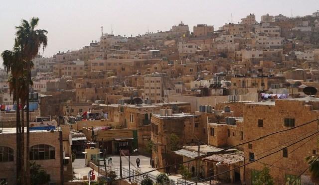 Hebron Blick Vom Muslimischen Ins Judische Hebron