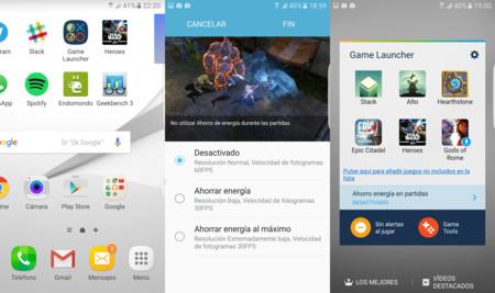 Game Launcher S7 Edge Xataka Review