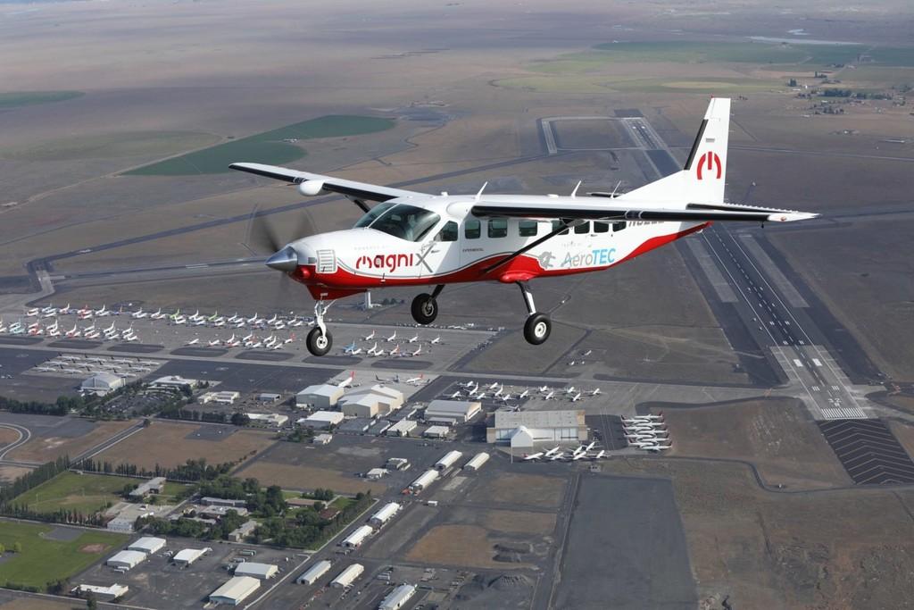 Esta Cessna 100% eléctrica de nueve plazas ya es la aeronave de emisiones cero más grande del mundo