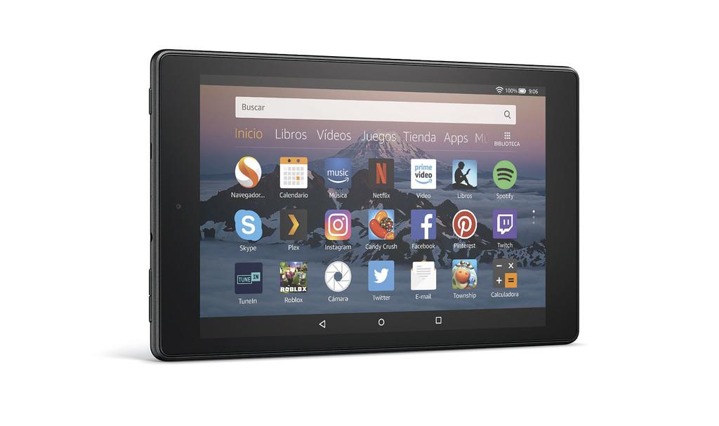 """Permalink to Amazon Fire HD 8 2018: más capacidad y menor precio para una nueva versión del tablet """"grande"""" de Amazon"""