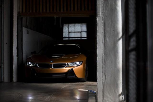 BMW i8 Roadster delantera