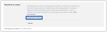 Facebook Deactivate Account 2