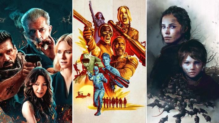 13 estrenos y lanzamientos imprescindibles para el fin de semana: 'El escuadrón suicida', 'Boss Level', 'A Plague Tale: Requiem' y mucho más