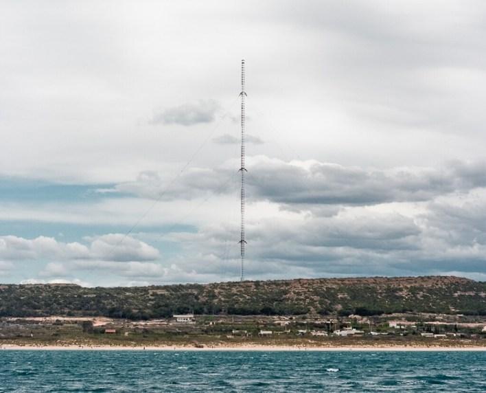Torreta de Guardamar: la estructura más alta de Europa está en Alicante y es detectable a kilómetros tanto en tierra como bajo el mar