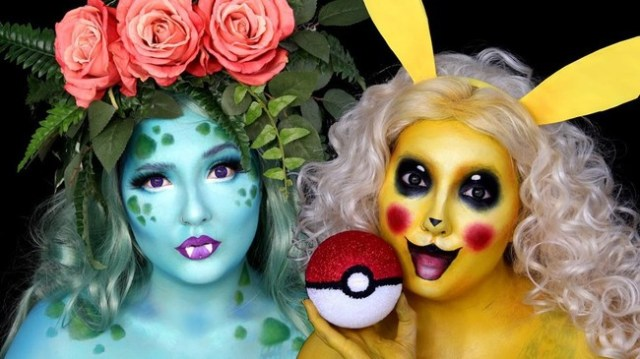 Pokemon Makeup Tutorials
