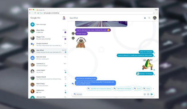 Permalink to Google Allo ya está disponible desde la web, y con él debuta Google Assistant en el escritorio