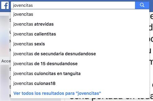 Sugerencias Busqueda Facebook 3