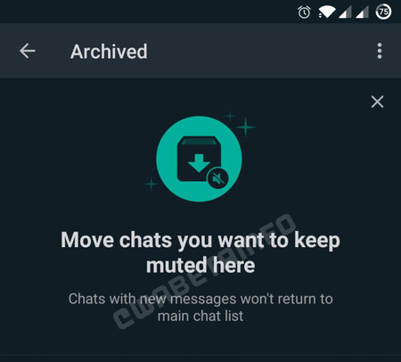 WhatsApp Beta for Android gives new clues about how it will silence our archived chats