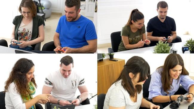 Jugadores del Mario Kart
