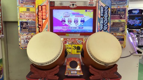 Akihabara máquinas arcade Taiko no Tatsujin