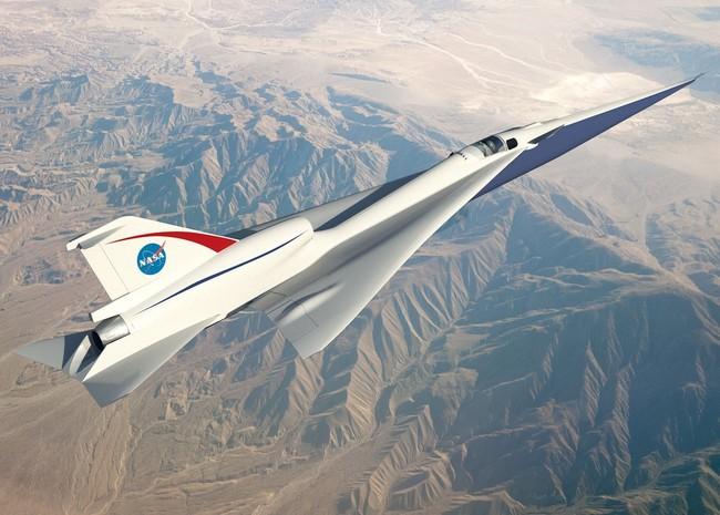 Quieter Supersonic Passenger Jet Nasa Dezeen Banner2