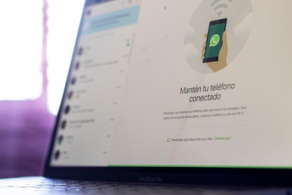 La última versión de WhatsApp Web deja ver el soporte para hacer videollamadas y llamadas desde el ordenador