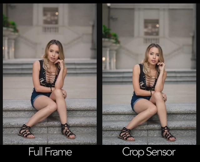 Full Frame Vs Crop Sensor 01