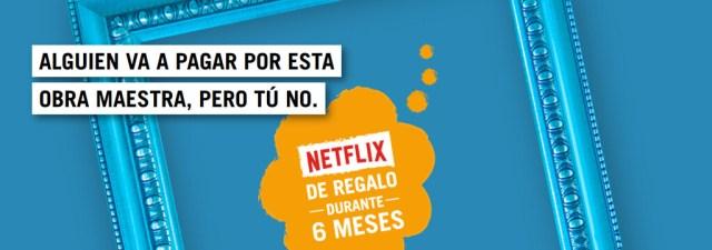 Seis meses gratis(free) de Netflix: así es la última promo de Yoigo℗ para nuevos clientes de Agile TV
